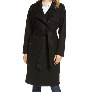 NWT! Marc New York Wool Blend Trench Coat